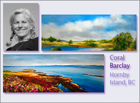 Coral Barclay, Portrait and Examples