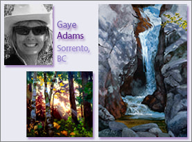 Gaye Adams, Portrait and Examples
