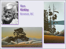 Ken Kirkby, Portrait and Examples