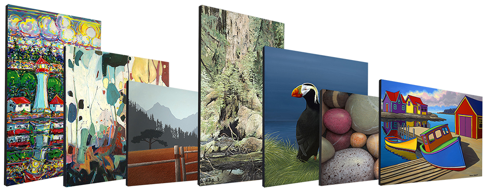 Examples, Open Edition Canvases