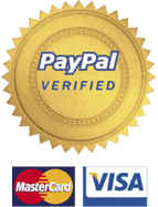 PayPal and Credit Card Verified logos