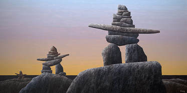 Ken Kirkby, Arctic Evening Sentinels, 24